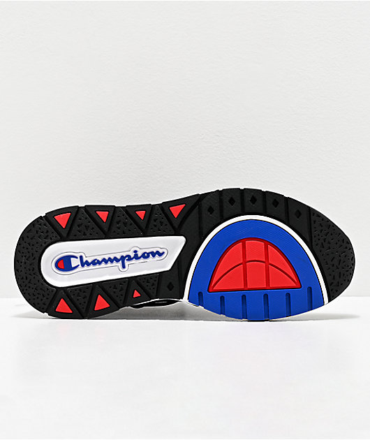 Champion Mens Rally Flux Black Shoes