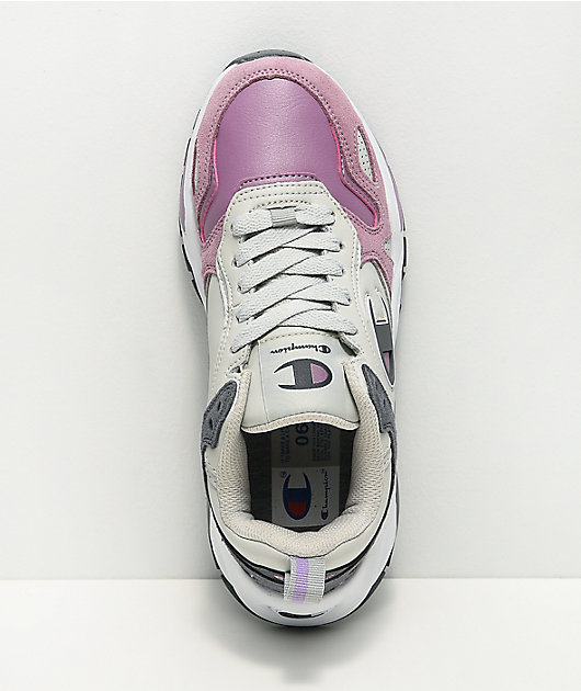 Champion NXT Mauve & Grey Shoes