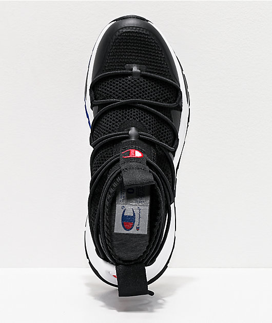 Champion Rally Flux Black Shoes