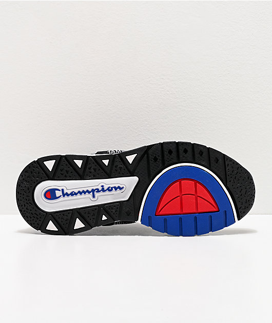 Champion Rally Flux Pro Lo Black Shoes