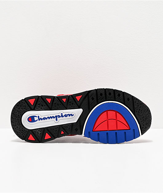 Champion Rally Flux Scarlet Red Shoes