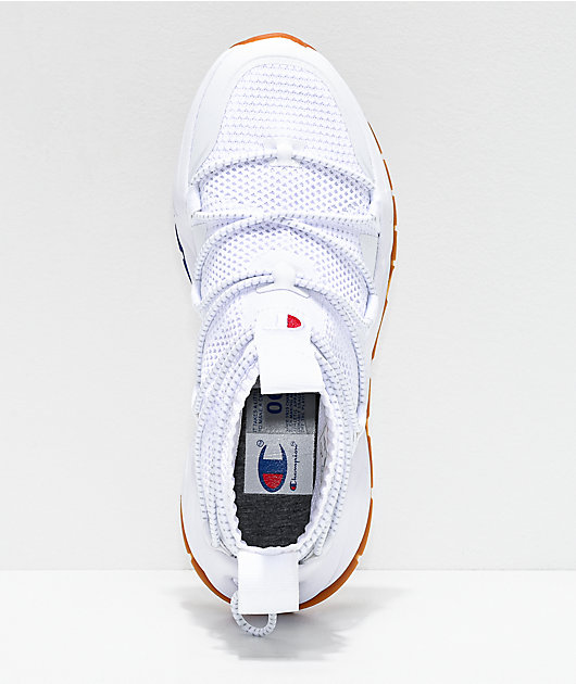 Champion Rally Flux White Shoes