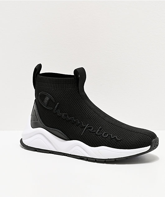 Champion Rally KT Black Shoes