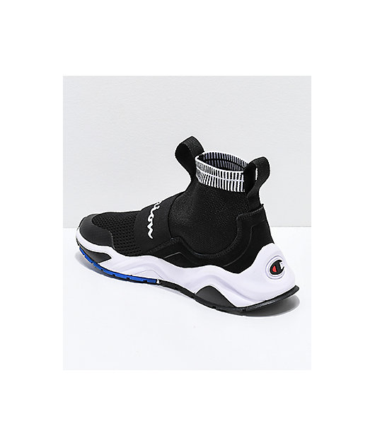 Champion Rally Pro Black & White Shoes