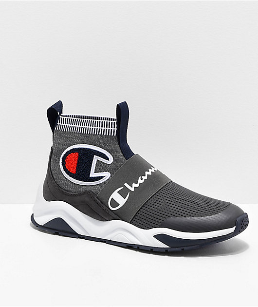 Champion Rally Pro zapatos en gris jaspeado