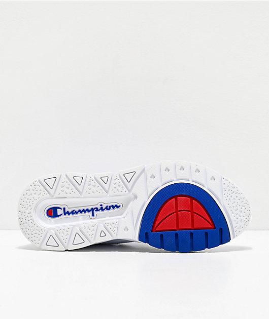 Champion Rally Script White Shoes