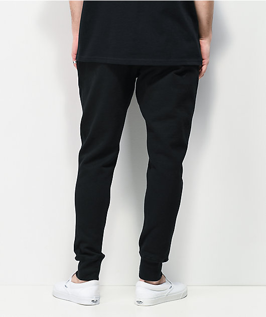Champion Reverse Weave Chain Stitch C Black Jogger Sweatpants