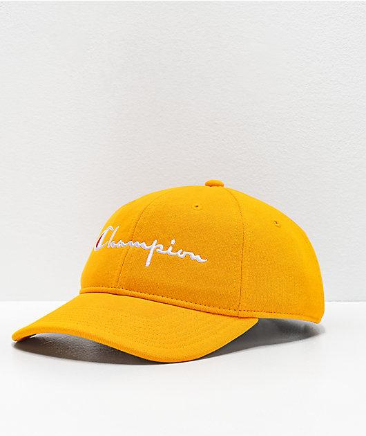 Champion Reverse Weave Citrus Strapback Hat