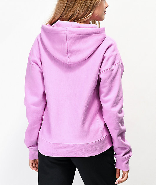 Champion Reverse Weave Paper Orchid Hoodie