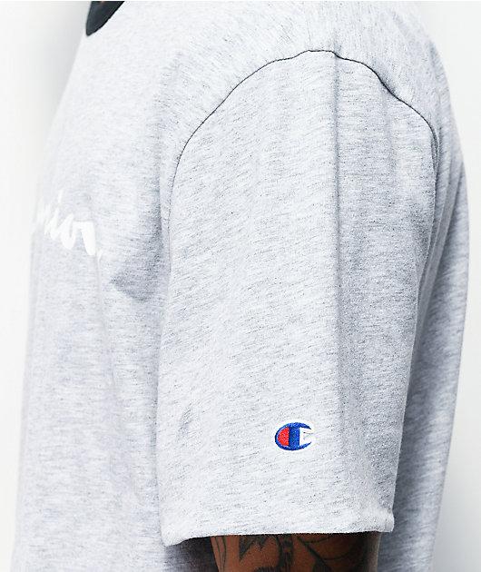 Champion Reversible Black & White Knit T-Shirt