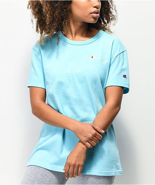 Champion Script Horizon Blue T-Shirt
