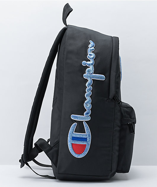 Champion Sector Black Backpack