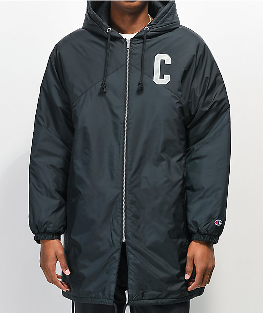 Champion Sideline Black Puffer Jacket