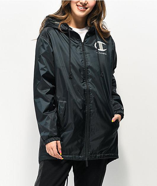 Champion Stadium Sherpa Black Jacket