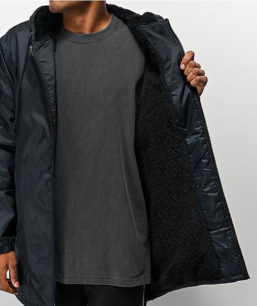 Champion Stadium chaqueta aislada negra