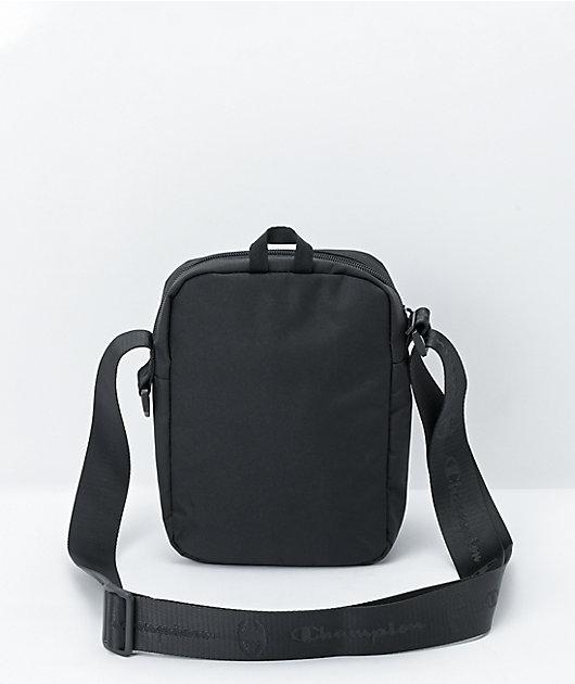 Champion Supercize Black Crossbody Bag