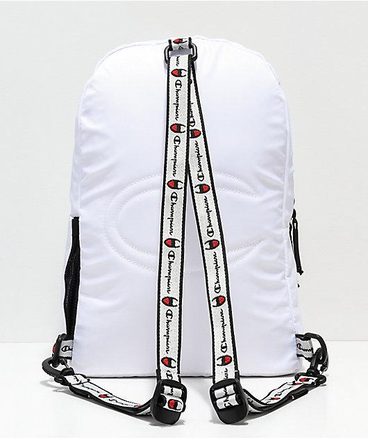 Champion Supercize White Mini Backpack
