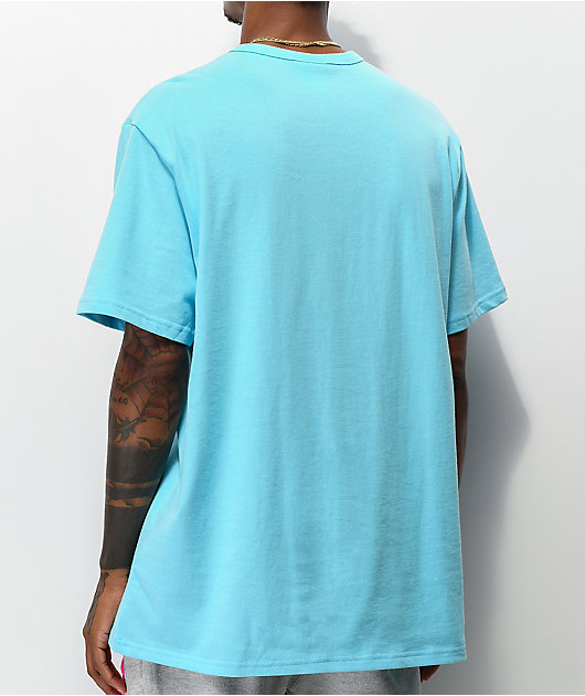 Champion Two Tone Jock Tag camiseta azul
