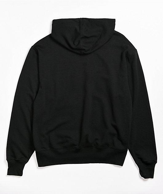 Champion Vintage Dye Black Hoodie