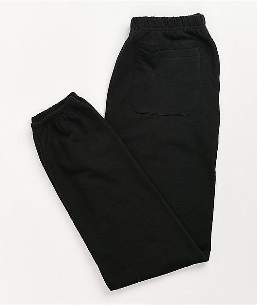 Champion Vintage Dye Black Sweatpants