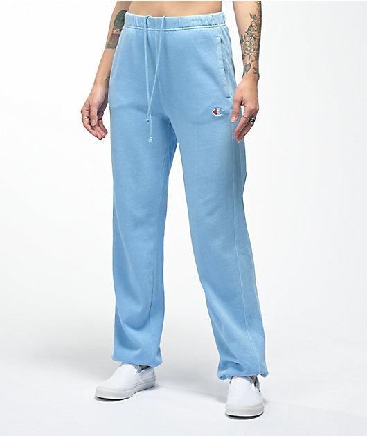 Champion Vintage Dye Blue Oversized Sweatpants