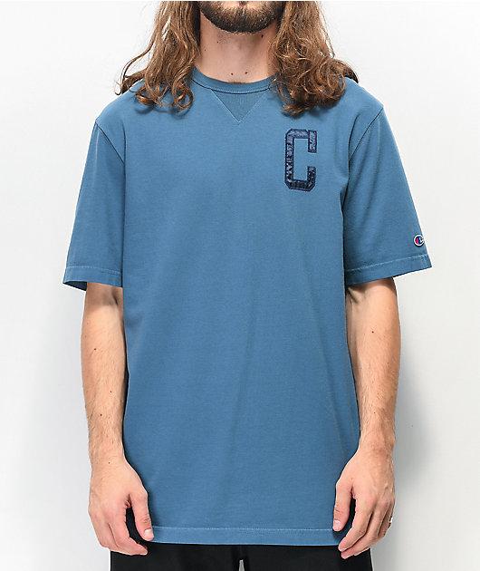 Champion Vintage Wash camiseta de punto índigo