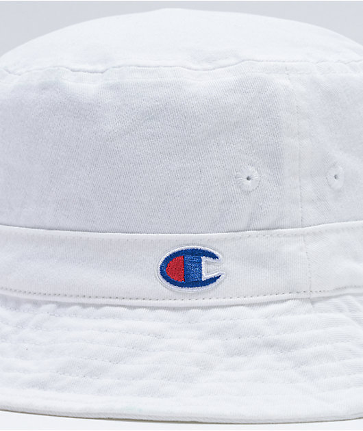 Champion Washed White Bucket Hat
