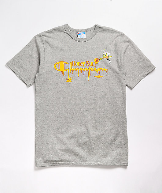 Champion x General Mills Cheerios Grey T-Shirt
