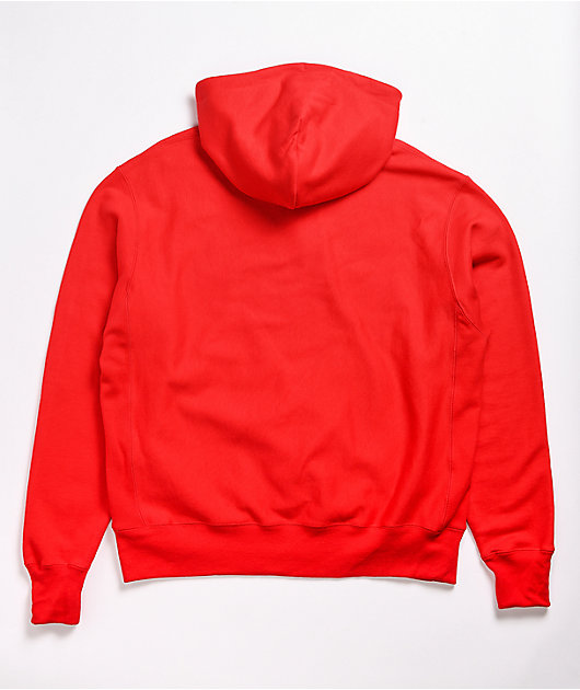 Champion x General Mills Lucky Charms Reverse Weave Red Hoodie