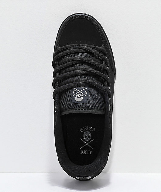 Circa Lopez 50 Black Skate Shoes