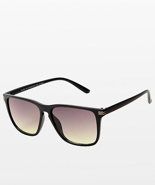 Classic Black & Silver SunGlasses