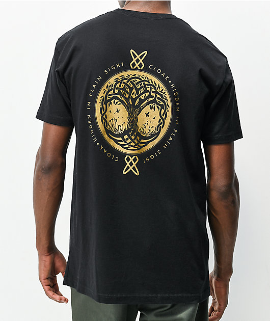 Cloak Erie Black T-Shirt