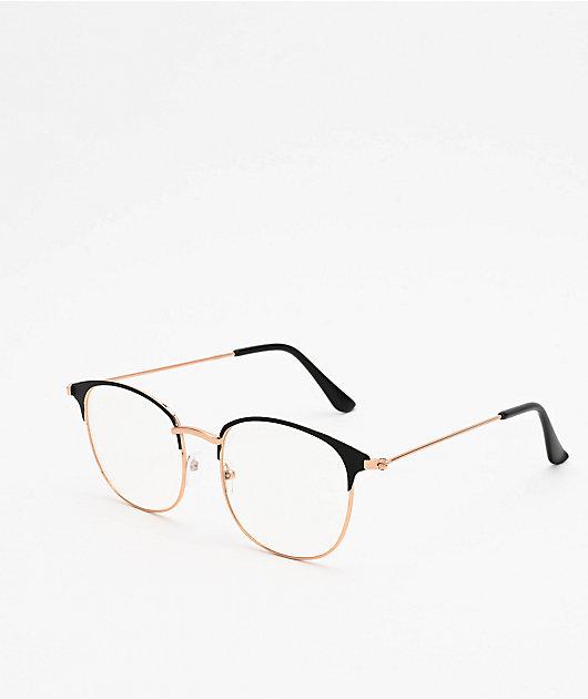Club Round Clear Glasses