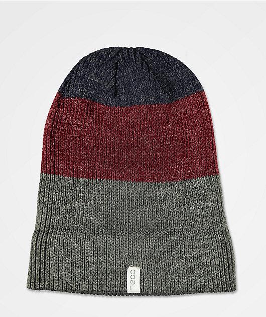 Coal Frena Charcoal Stripe Beanie