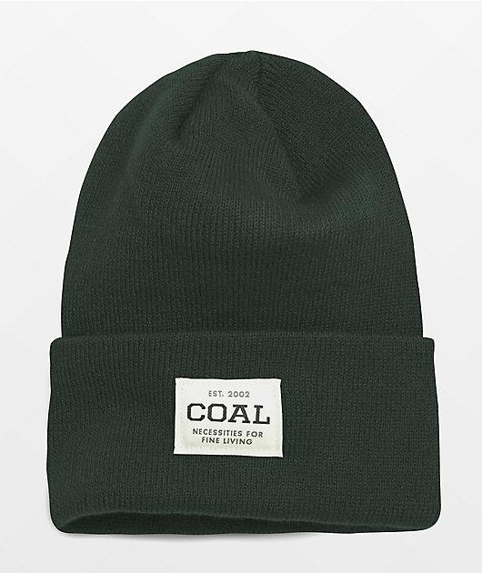Coal The Uniform Dark Green Beanie