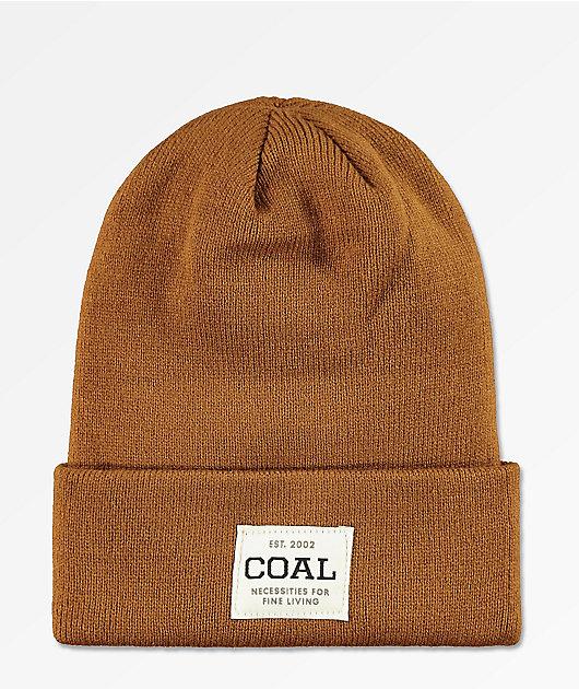 Coal The Uniform Light Brown Beanie