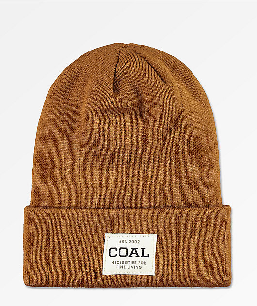 Coal Uniform gorro marrón claro