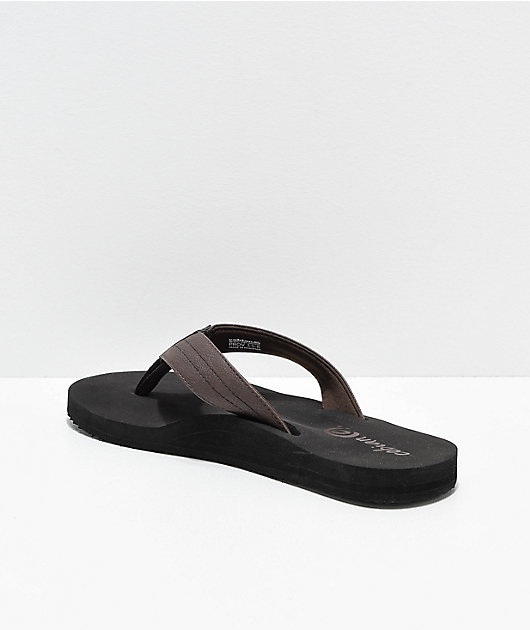 Cobian The Costa Chocolate Brown Sandals