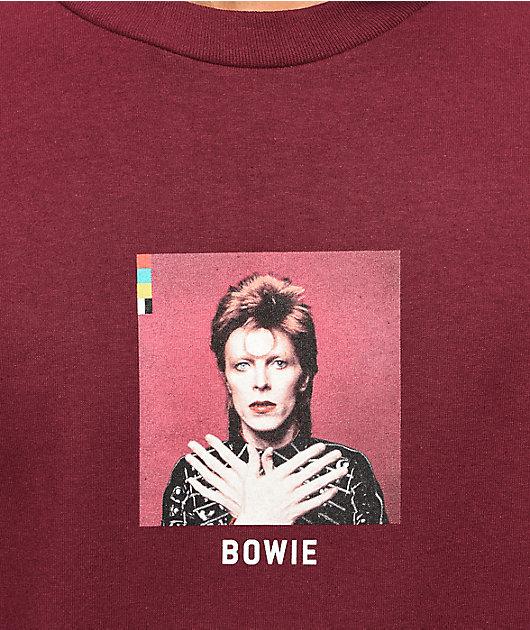 Color Bars x David Bowie Ziggy Stardust camiseta de manga larga