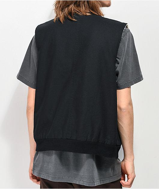 Common Bloodshot Black Reversible Vest