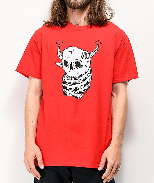 Common Brain Eater camiseta roja