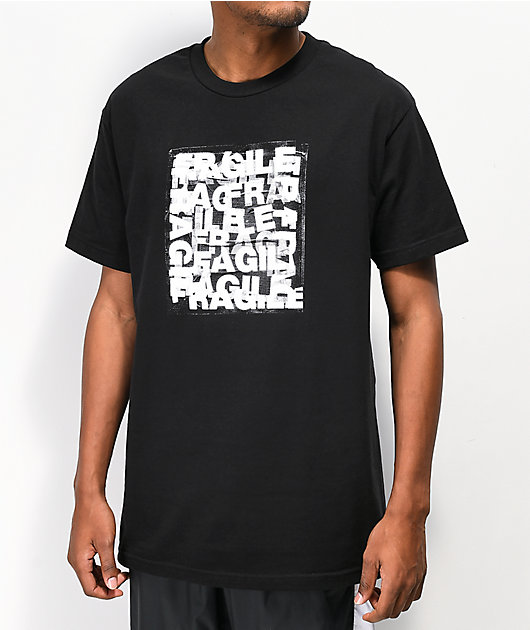 Common Dust Fragile Black T-Shirt