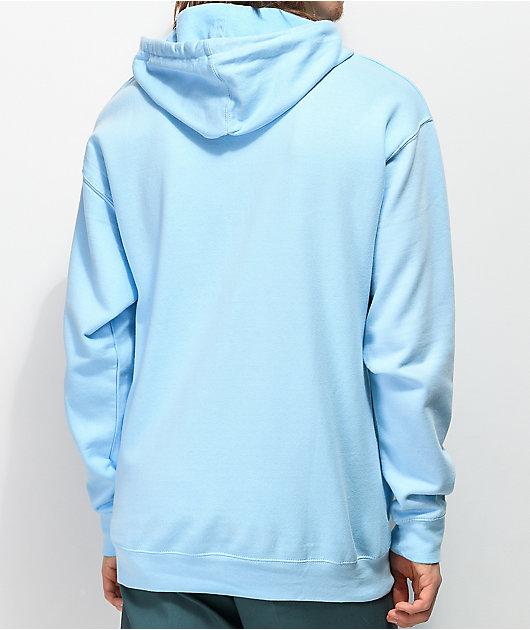 Common Kutit Sky Blue Hoodie