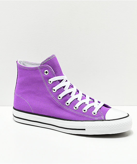 Converse CTAS Pro Electric Purple Shoes