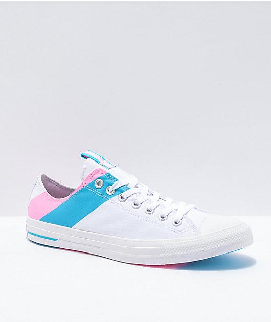 converse azul 44