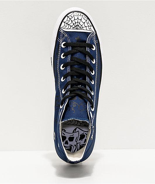 Converse Chuck Taylor All Star Pro Sean Pablo Navy Skate Shoes