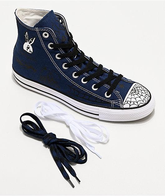 Converse Chuck Taylor All Star Pro Sean Pablo zapatos de skate azul marino