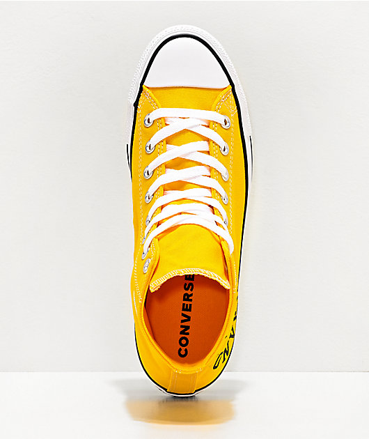 Converse Chuck Taylor All Star Smile Yellow & White Shoes