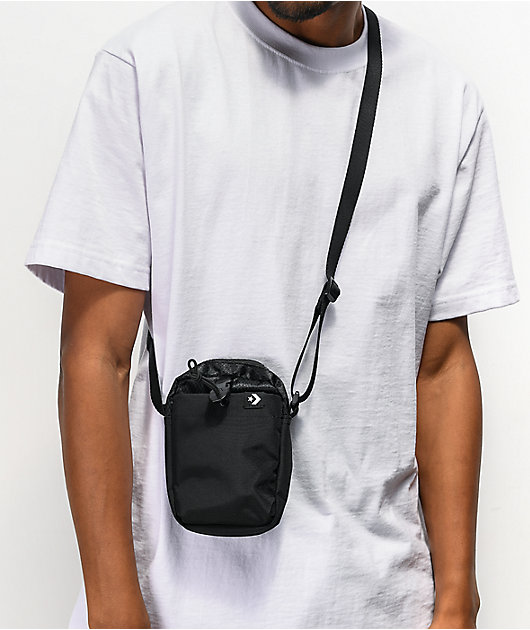Converse Comms Black Shoulder Bag