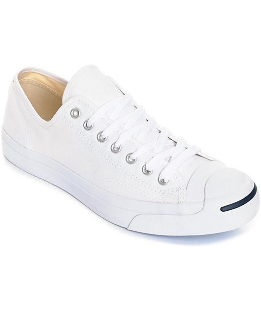 Converse Jack Purcell White Shoes | Zumiez